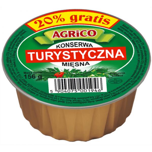 Agrico KONSERWA TURYSTYCZNA 156g 12 sztuk