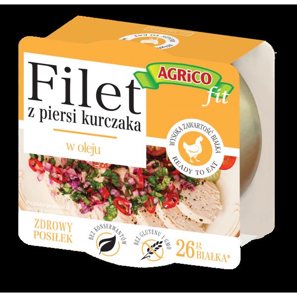 Agrico CHICKEN FILLET IN OIL 160g 18 pcs