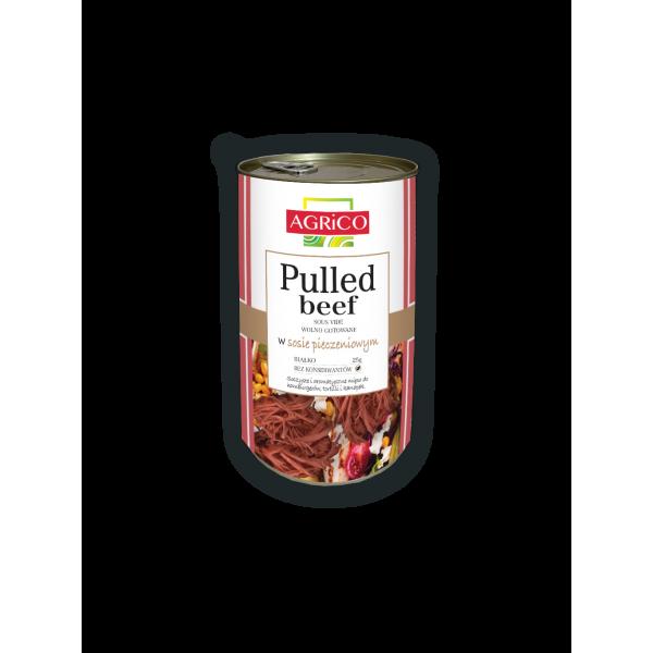AGRiCO Pulled Beef w sosie pieczeniowym 1250g