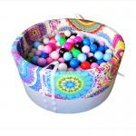 Baby Ball Pokrowiec na okrągły suchy basen 90×40 cm – Kalejdoskop