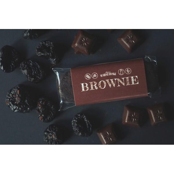 Baton WARSZAWSKI Brownie 50g 7 szt.