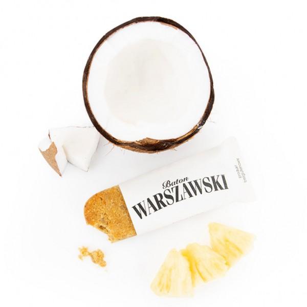 Baton WARSZAWSKI ananas i kokos 60g 7 szt.
