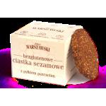 Baton WARSZAWSKI Ciastka sezamowe z pyłkiem pszczelim 150g 7 op.