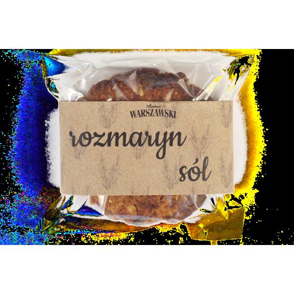 Baton WARSZAWSKI Wytrawne ciastko – Rozmaryn i sól 60g 10 op.