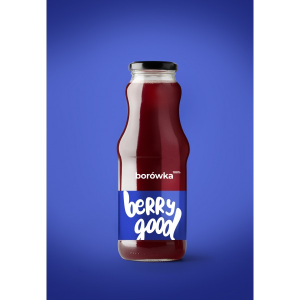 Berry Good Sok Borówka 100% 8x250ml