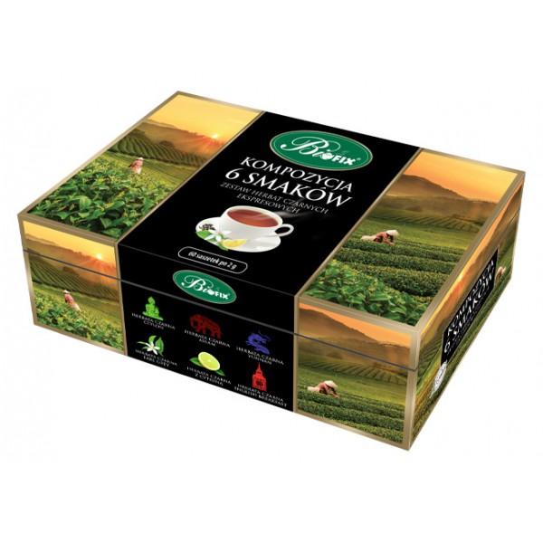 Bi FIX KOMPOZYCJA 6 SMAKÓW CZARNYCH Herbata czarna ekspresowa
