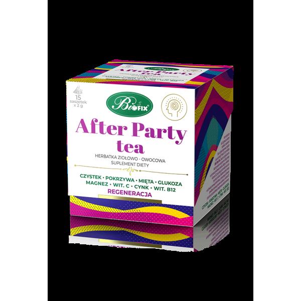 Bi FIX AFTER PARTY TEA Herbatka ziołowo-owocowa Suplement diety 15 x 2 g