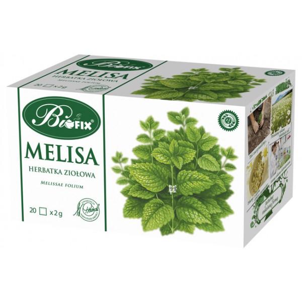 Bi FIX MELISA Herbatka ziołowa ekspresowa 20 x 2 g