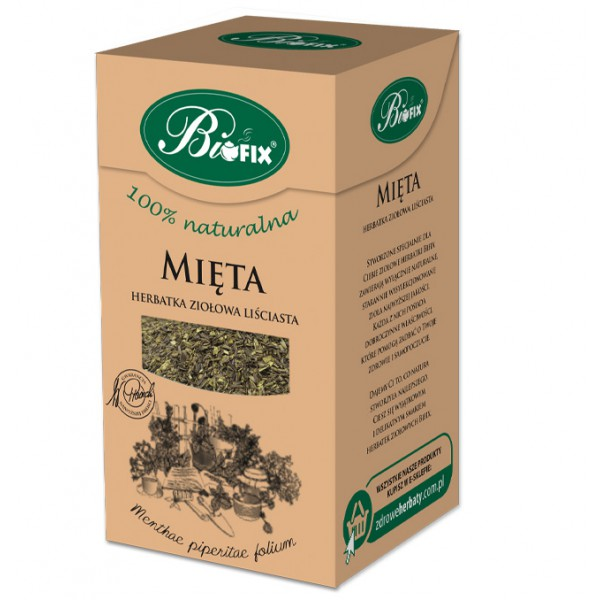 Bi FIX MIĘTA Herbatka ziołowa 40g