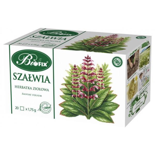 Bi FIX SZAŁWIA Herbatka ziołowa ekspresowa 20 x 1,75 g