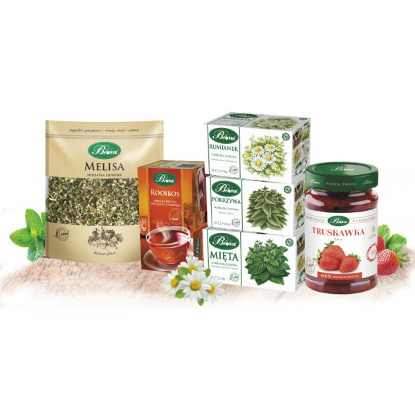 Bi FIX THE POWER OF HERBS A set of teas and jams
