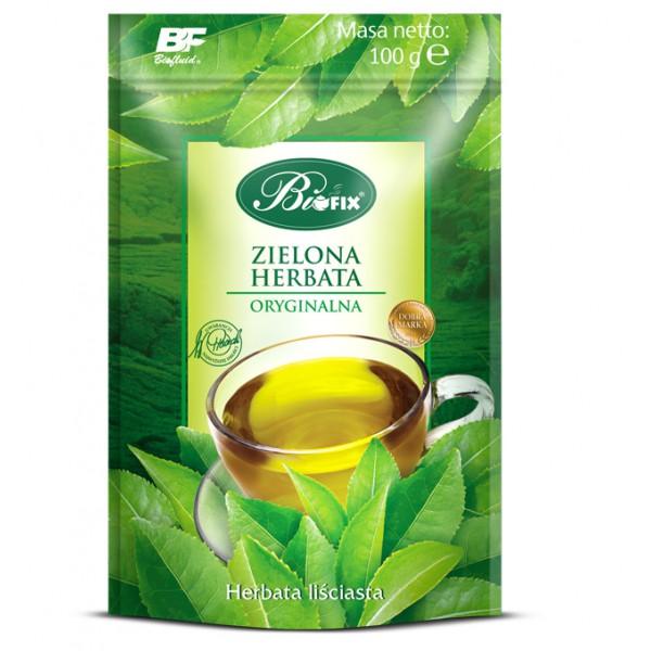 Bi FIX ZIELONA ORYGINALNA Herbata liściasta 100 g