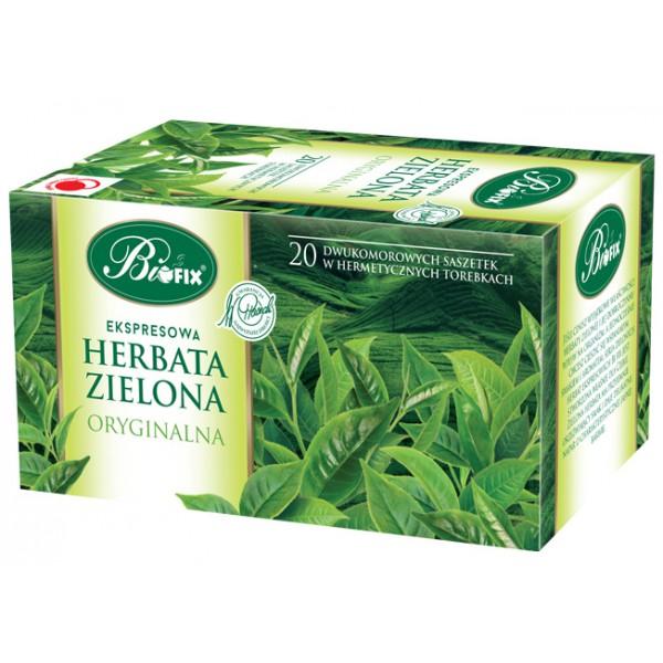 Bi FIX Premium ZIELONA ORYGINALNA Herbata ekspresowa 20 x 2 g