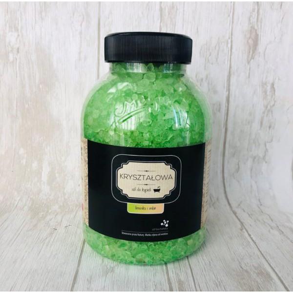Bochneris Sól Kryształowa Limonka i Imbir 1,2 kg
