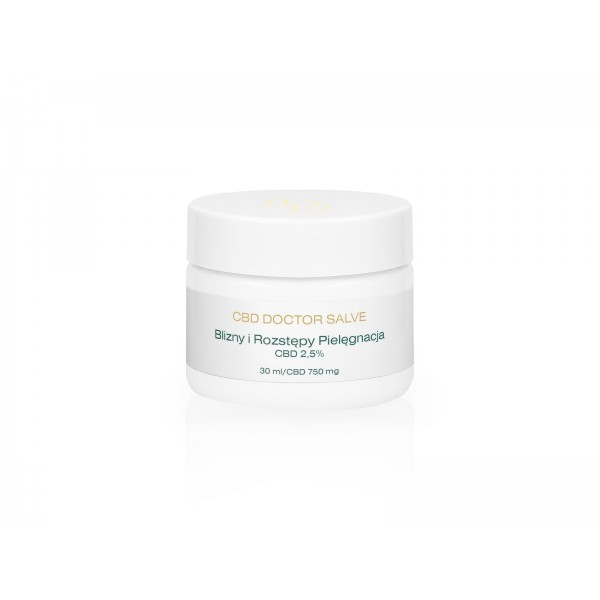 CBD Doctor Scars and stretch marks. Care ointment 2.5% CBD - 30ml