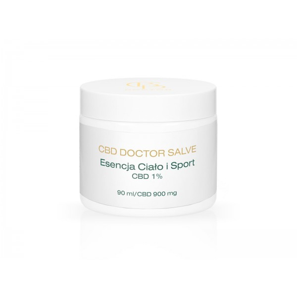 CBD Doctor Essence body and sport - ointment for athletes 1% CBD - 90ml