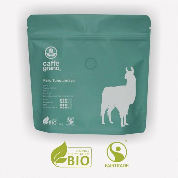 Caffe Grano Kawa Peru Tunquimayo grade 1 – organiczna kawa