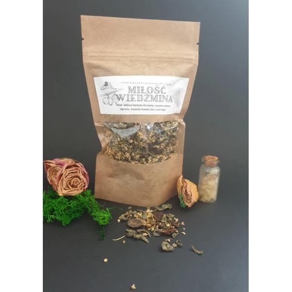 Chatka Szeptuchy Herbata MIŁOŚĆ WIEDŹMINA