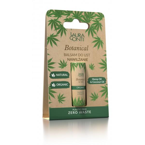LAURA CONTI ORGANIC moisturizing lip balm with hemp oil