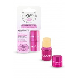 LAURA CONTI Lip Gel Crystal Clear Miracle Color natural, strongly moisturizing, coloring lips
