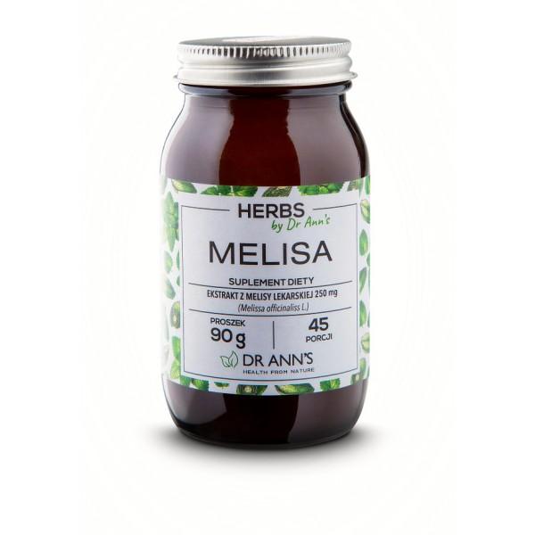 DR Anns MELISA - Suplement diety w proszku