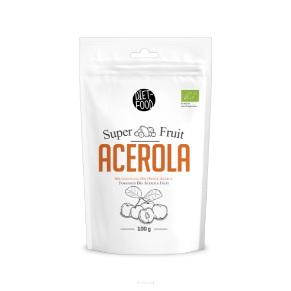 Diet-Food Bio Acerola Proszek 100g