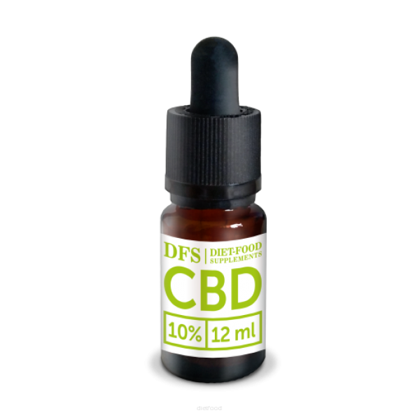 Diet-Food Olej CBD 10% 12 ml