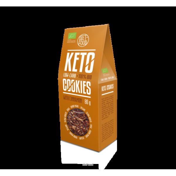 Diet-Food Bio ciasteczka keto z cynamonem 80g
