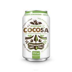 Diet-Food CocoSa - gazowana, naturalna woda kokosowa