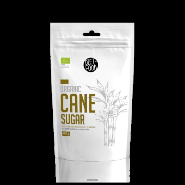 Diet-Food Bio cukier trzcinowy ciemny Demerara 400g