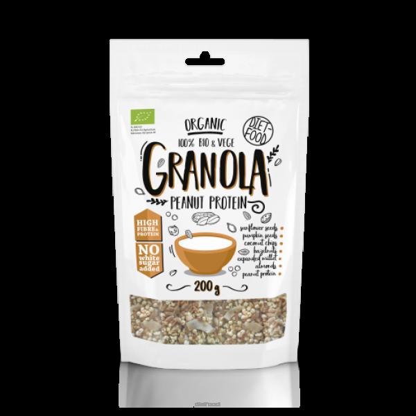 Diet-Food Bio granola Peanut Protein