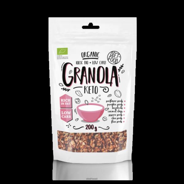 Diet-Food Bio keto granola 200g