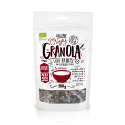 Diet-Food Bio granola z burakiem i jabłkiem