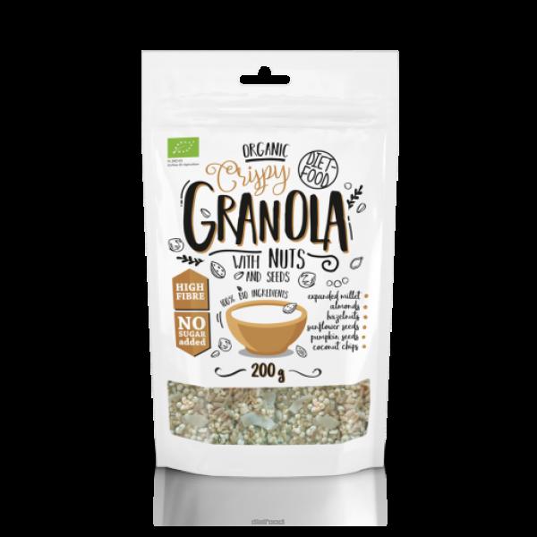 Diet-Food Bio granola z orzechami