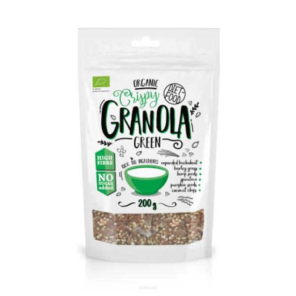 Diet-Food Bio granola zielona