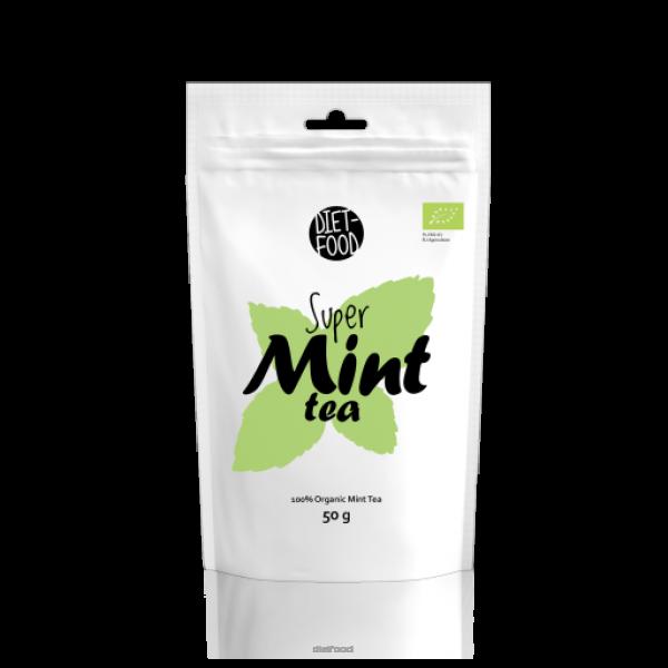 Diet-Food Bio herbata miętowa liściasta 50 g