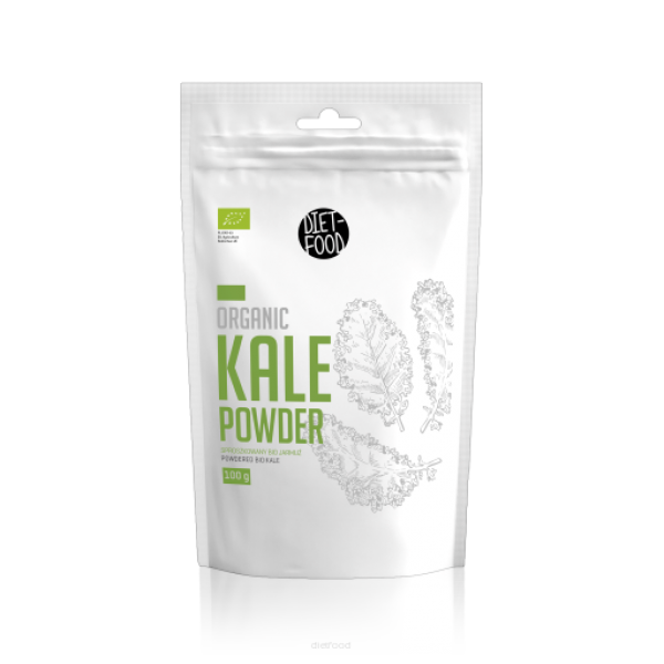 Diet-Food Bio Jarmuż - Kale Powder 100g