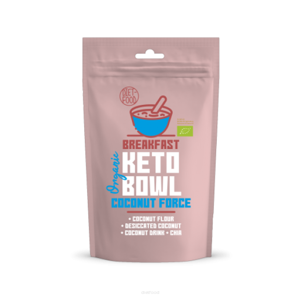 Diet-Food BIO KETO BOWL COCONUT FORCE