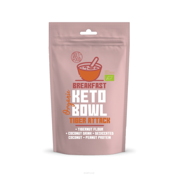 Diet-Food Bio keto bowl - tiger attack