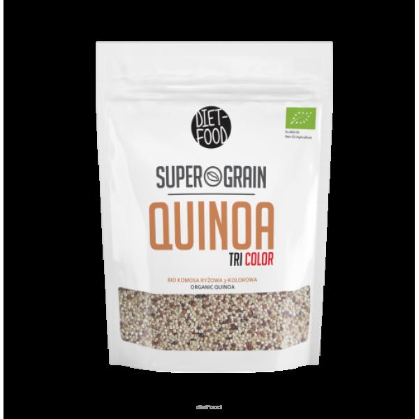 Diet-Food Bio Komosa ryżowa 3 kolorowa 400g