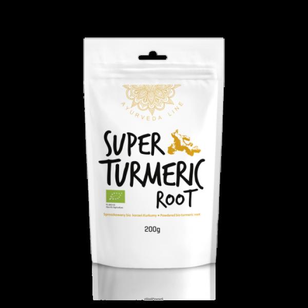 Diet-Food Bio Korzeń Kurkumy - Super Turmeric