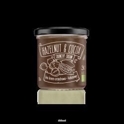Diet-Food KETO Friendly - NUTTY Bio Krem Orzechowo - Kakaowy 300 g