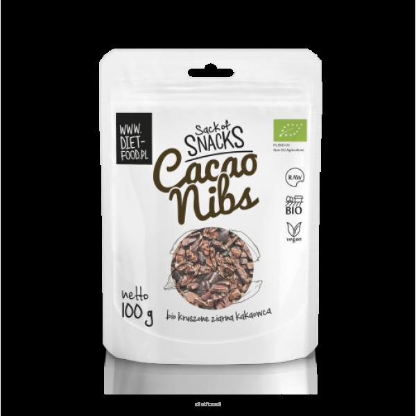Diet-Food Bio Kruszone Ziarna Kakaowca 100 g