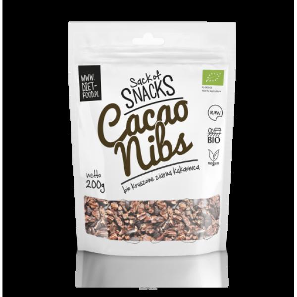 Diet-Food Bio Kruszone Ziarna Kakaowca 200g