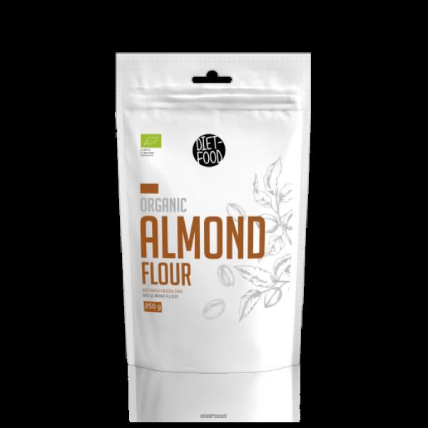 Diet-Food KETO Friendly - Bio Mąka Migdałowa 250 g