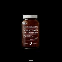 Diet-Food MELATONINA + WITAMINA B6 kapsułki 60 szt.
