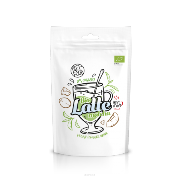 Diet-Food Bio matcha latte 200g