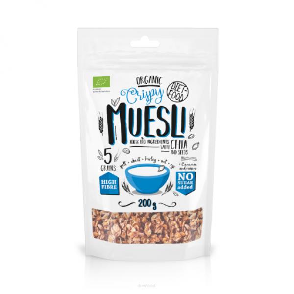Diet-Food Bio musli z nasionami chia