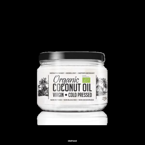 Diet-Food KETO Friendly - Bio Olej Kokosowy 250ml - nierafinowany