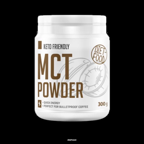 Diet-Food KETO Friendly - Olej kokosowy MCT w proszku 300g